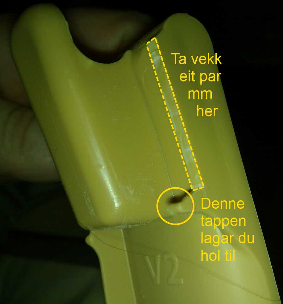 5cc1ee9e Korleis modifisera eldre Tripp Trapp stol for montering av ny type ...